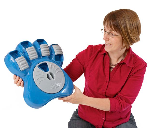 Kathleen Desrosiers inventor dog interactive feeder